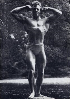 Tony Emmott British bodybuilder