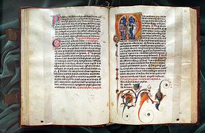 Publius Flavius Vegetius Renatus - Mulomedicina (1250-1375 ca., Biblioteca Medicea Laurenziana, pluteo 45.19)