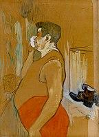 Toulouse-Lautrec - Monsieur Caudieux, Café Concert Actor, 1893.jpg