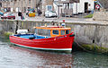 Tourist boat moored in Seahouses harbour - geograph.org.uk - 1378025.jpg