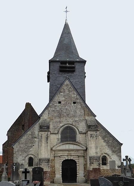 Église Saint-Pierre-à-Antioche de Tourmignies Nord.- France