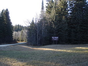 Duck Mountain Provincial Park (Manitoba) - Image: Toward baldy mountain
