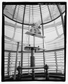 Tower, interior view, detail of light inside lense. - Bodie Island Light Station, Off Highway 12, Nags Head, Dare County, NC HABS NC-395-24.tif