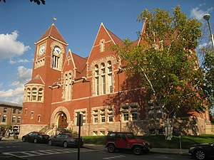Amherst Center, Massachusetts - Town Hall