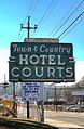 Town and Country Hotel Courts, Metropolitan Parkway, Perkerson neighborhood, Atlanta.JPG