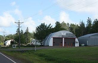 Bayfield (town), Wisconsin - Town garage