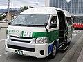 Toyama Chitetsu Bus 804 at Kurobe Station 01.jpg