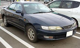Toyota Carina ED - Image: Toyota Carinaed 1995