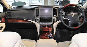 Toyota Crown Majesta - Toyota Crown Majesta interior