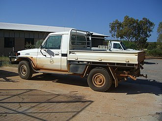 Department of Conservation and Land Management (Western Australia) - Image: Toyota Land Cruiser Work Mate KNP 2 X 2005