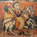 Tríptico etíope. Detalle de san Jorge.JPG