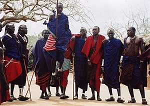 African dance - Adumu, Maasai traditional dance