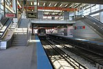 Train and empty track at Midway.jpg