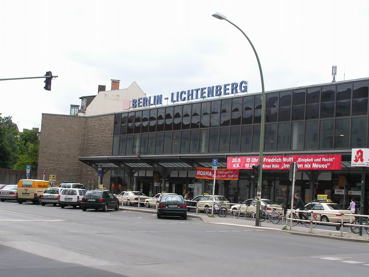 Bahnhof Berlin Lichtenberg Wikipedia