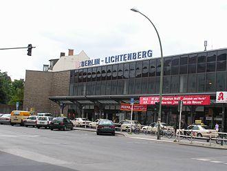 Lichtenberg (locality) - Lichtenberg railway station