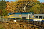 Trainspotting VIA -66 to Montreal headed by GE P42DC -903 and banked by EMD F40PH-2 -6437 (8123579419).jpg