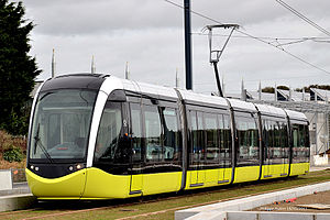 Brest tramway - Image: Tramway Brest