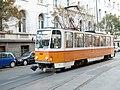 Tramway in Sofia in Alabin Street 2012 PD 004.jpg