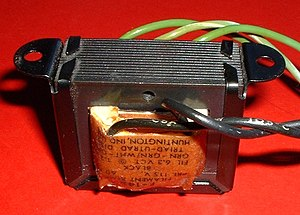 Transformer types - Laminated core transformer