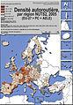 Transports européens 2005 Autoroutes.jpg
