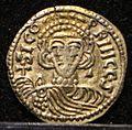 Tremisse di sicone principe, con s. michele benevento 817-832, 02.jpg