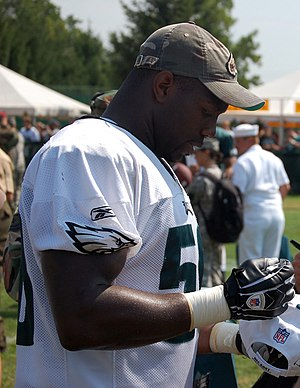 Trent Cole - Cole with the Philadelphia Eagles in 2008