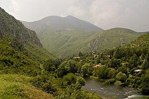 Treska - View to the Treska in the Poreče Region