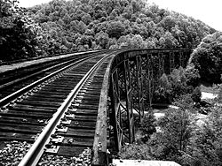 Trestle at Covel West Virginia