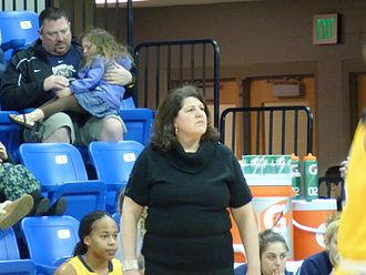 Quinnipiac University - Tricia Fabbri, head coach women's basketball