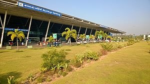 Trivandrum International Airport - Image: Trivandrum Terminal