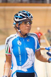 Elena Cecchini Italian cyclist