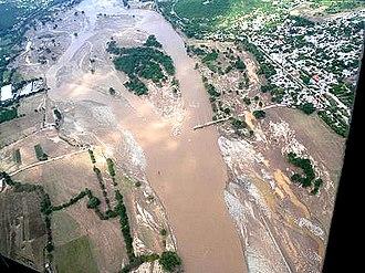 Tropical Storm Agatha - Flooding triggered by Agatha in Guatemala