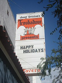 Troubadour West Hollywood California Wikipedia
