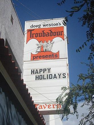 Troubadour (West Hollywood, California) - Image: Troubadour 01