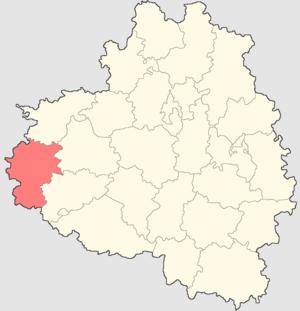 Belyovsky District - Image: Tulskaya oblast Belevsky rayon