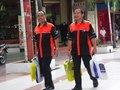 Twee mannen doen inkopen op Pasar Baru te Jakarta, KITLV 160413.tiff