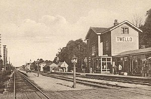 Twello railway station - Twello train station (1900)