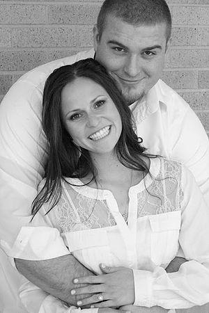 Tyler Larsen - Tyler Larsen with his wife Samantha