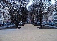 Tylovo náměstí, rekonstrukce parku.jpg