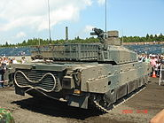Type 10 engine compartment