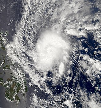 2005 Pacific typhoon season - Image: Typhoon Roke 2005