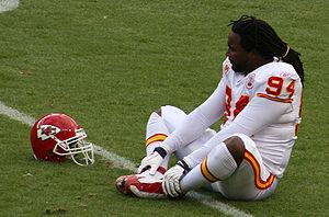 Tyson Jackson - Jackson with the Kansas City Chiefs in 2010