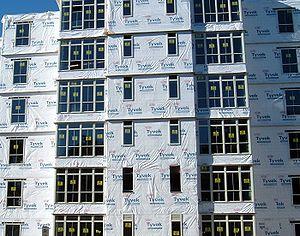 Tyvek - Tyvek house wrap