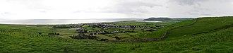 Tywyn - Image: Tywyn panorama, July 2012