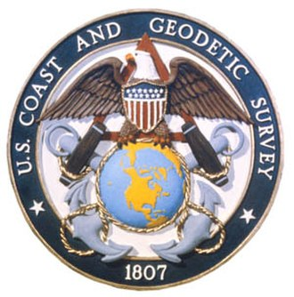 U.S. National Geodetic Survey - The seal of the United States Coast and Geodetic Survey