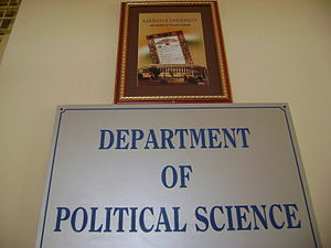 Karnatak University - Political Science Department