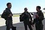 USAF Female F-35 Fighter Pilot Lt. Col. Christine Mau at McEntire Joint National Guard Base 2016.jpg