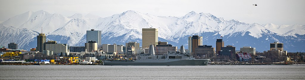 USS Anchorage in Anchorage, Alaska
