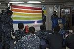 USS Bonhomme Richard Lesbian, Gay, Bisexual and Transgender (LGBT) Pride Month celebration 170628-N-RU971-033.jpg