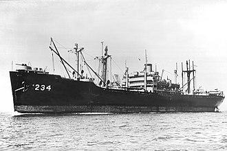 USS Bucyrus Victory (AK-234) - Image: USS Bucyrus Victory (AK 234)